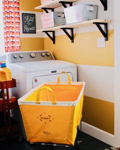 Tiny Laundry Room Makeover for Under $250