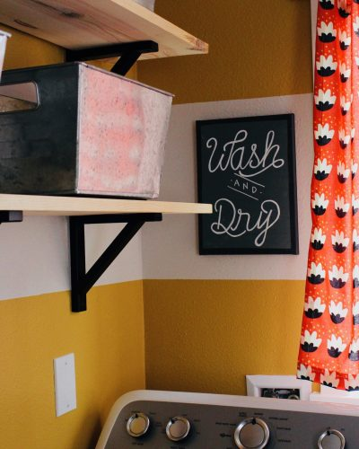 creating a beautiful and functional small laundry room on a budget