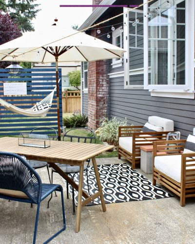 An Outdoor Living Room We Love